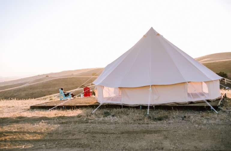 mountain yurt lodging