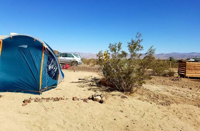 ground camping close to 1st Tent Platform (on the right), so it's a great choice to keep your group together.
