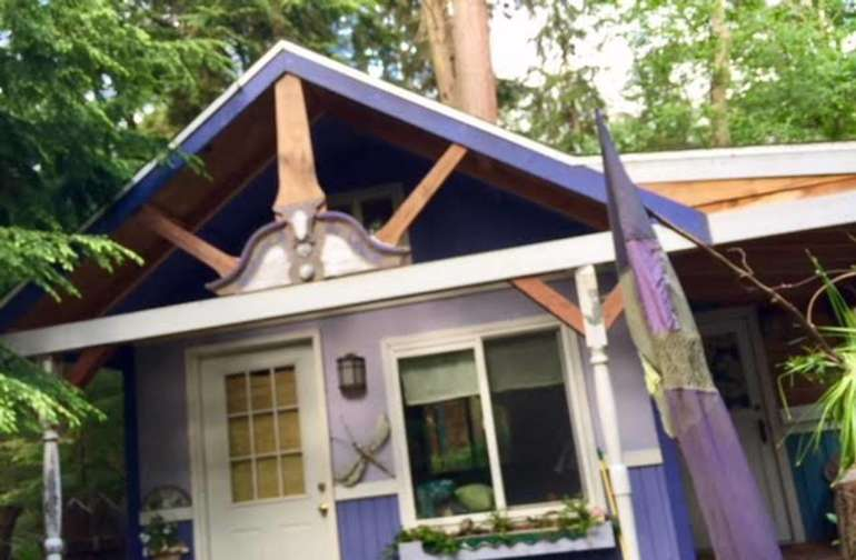Purple Cottage Studio!