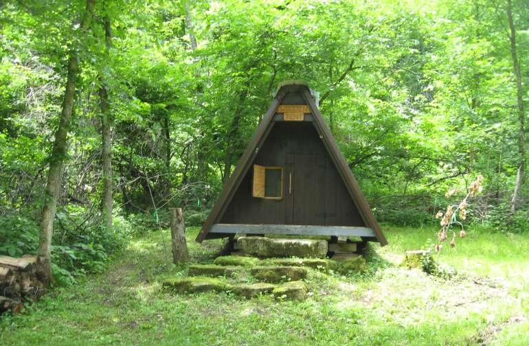 The Wooden Tent