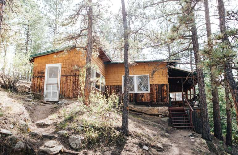 Greyledge Cabin is as cute on the inside as it is on the outside.