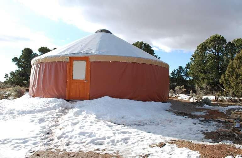 Yurt! Yay!