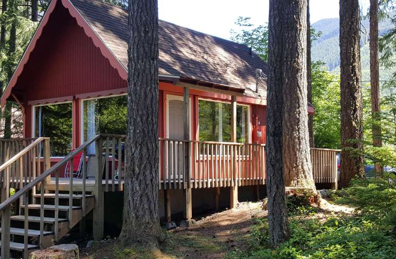 Little Red Cabin- Charm Galore!