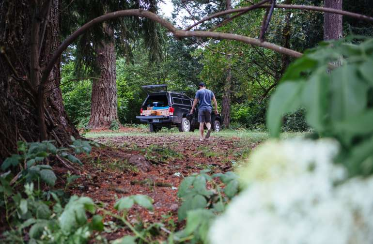 forest people van
