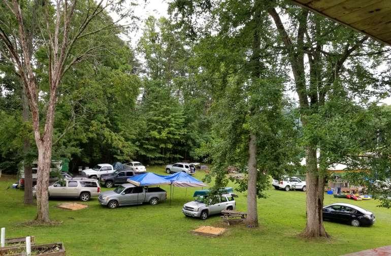 Ringer Cove pristine lake camping