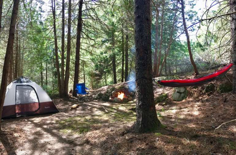 Acadia East Campground Thunder Hole