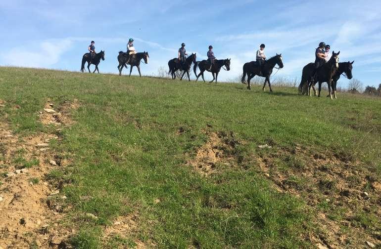 See Kentucky from horseback