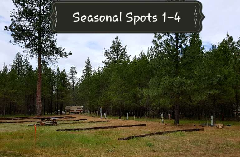 Seasonal RV Spots 1-4