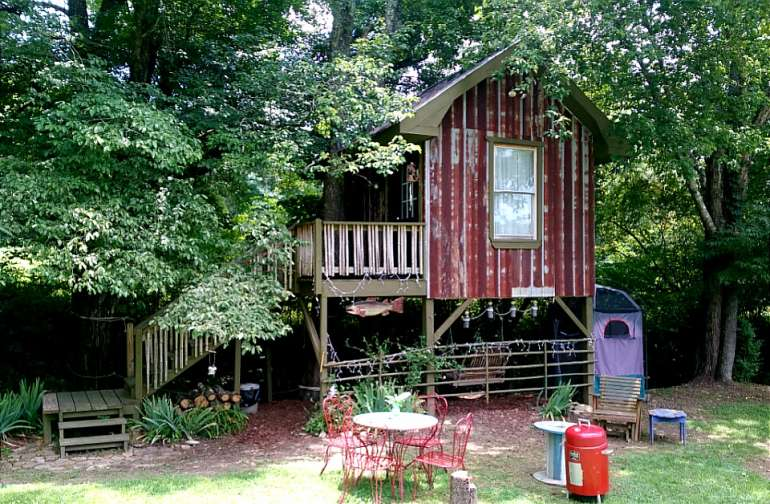 North Sungate Farms Treehouse