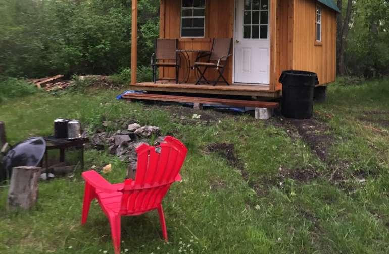 1 room cabin