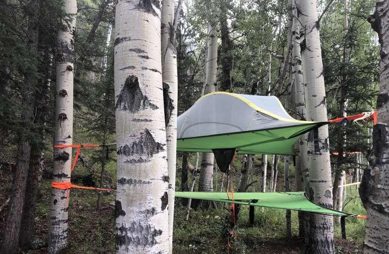 Hanging Tree Tent, Bison Peak Lodge
