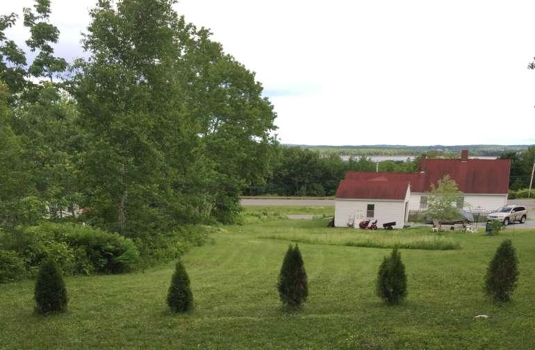 Campsite view.