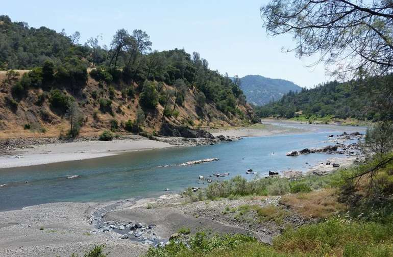 ...with access to the north fork of the Eel River. Unsullied and natural!