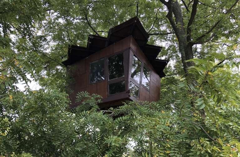 Treehouse, 12 Acres, Clinton Lake