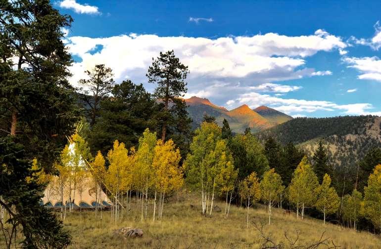 Tent Camping at Bison Peak Lodge
