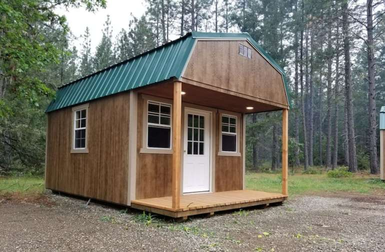 Front of Mini-Cabin #1