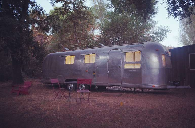 A night in an Airstream :)