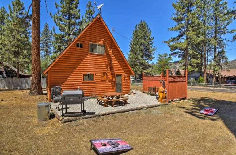 Latitude Adjustment Cabin, Big Bear