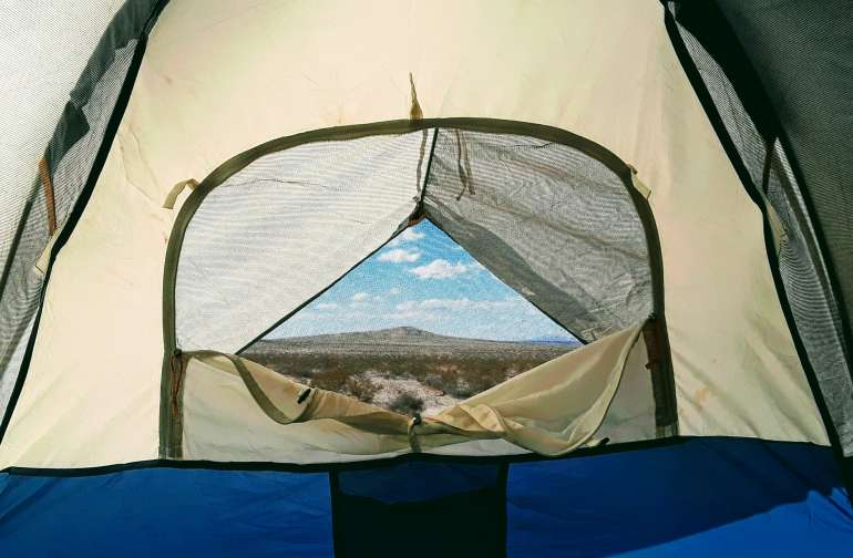 Ciew from you tent or ours:)