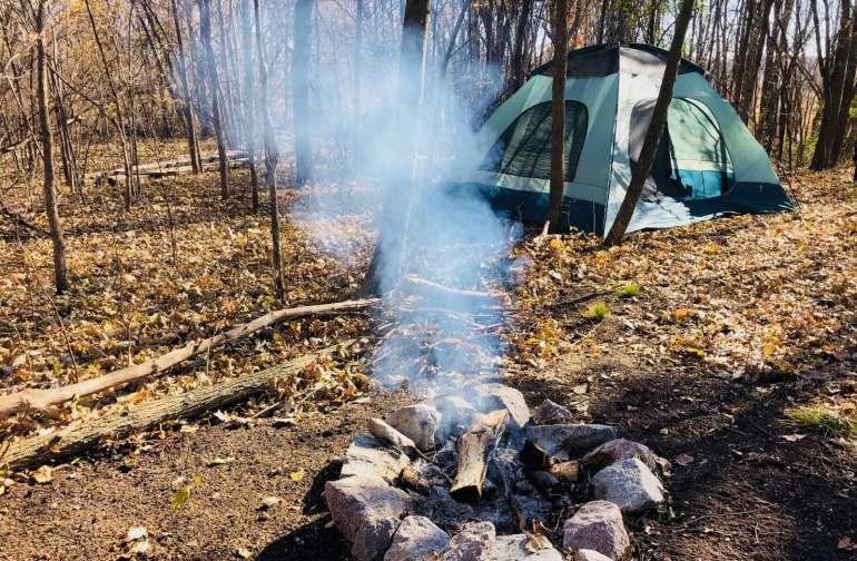 """Campsite #2  """"Stevie's campsite"""""""