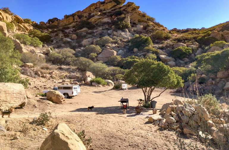 Have this entire secluded campsite to yourself!