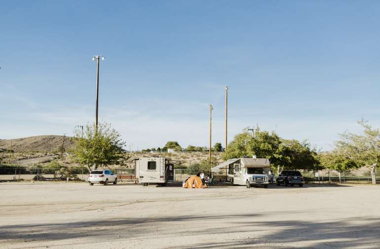 Joshua Tree Sportsmans Club RV Park