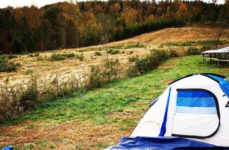 There are many options for putting up your tent set up!