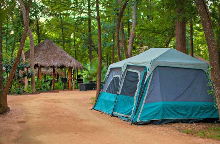 glamping tent & cabana