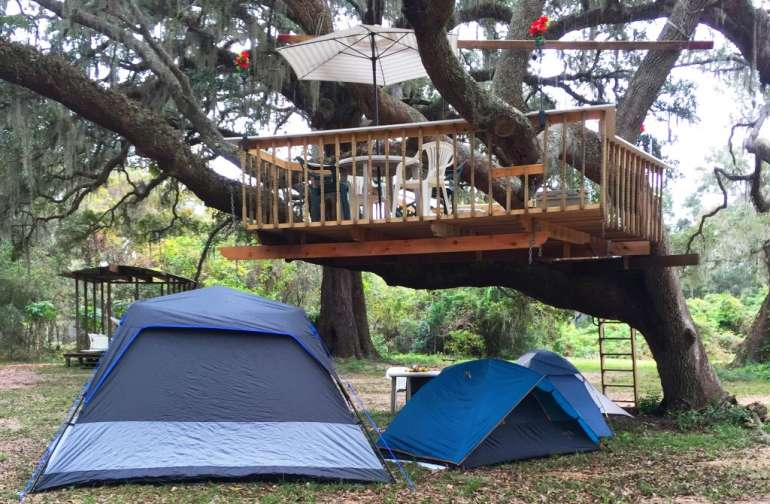 Your tents or rent ours...