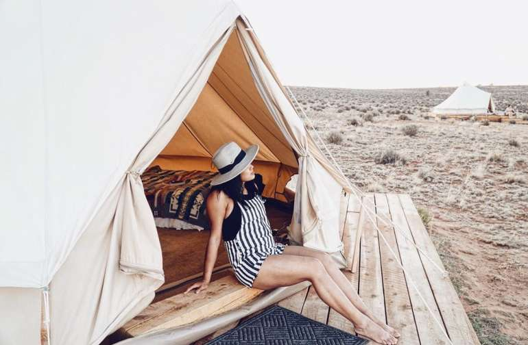 Navajoland Bell Tent Glamping