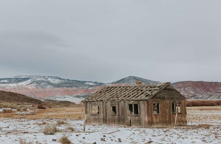 Exploring the old homestead