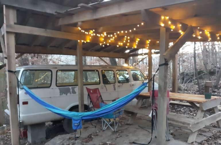 Lots of hammocking options