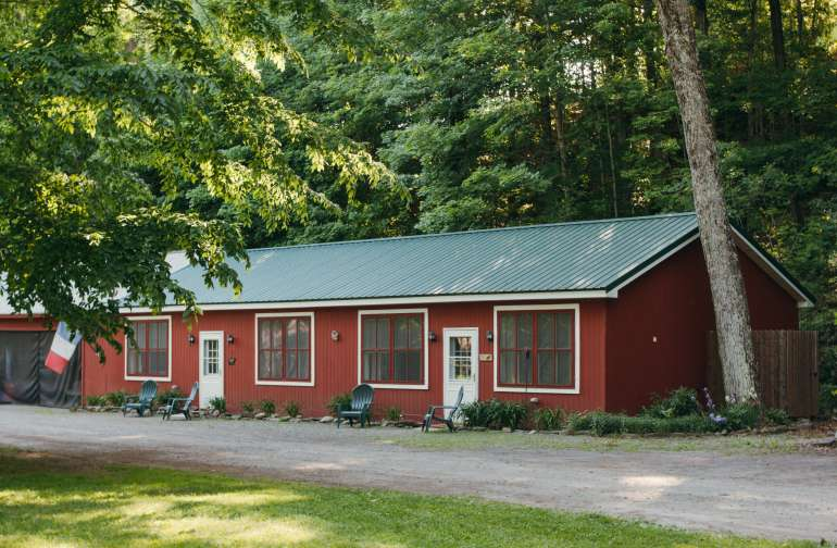 The Adirondack Cabin By The River