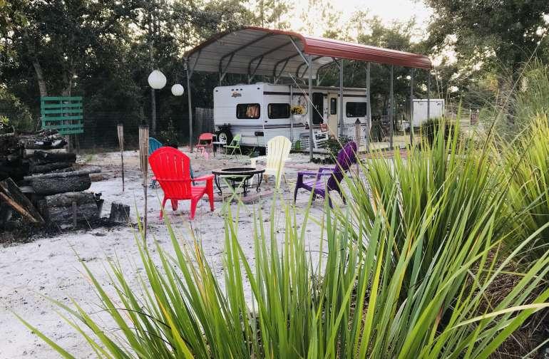 Lapidary Arts Camp/  Casita Rental