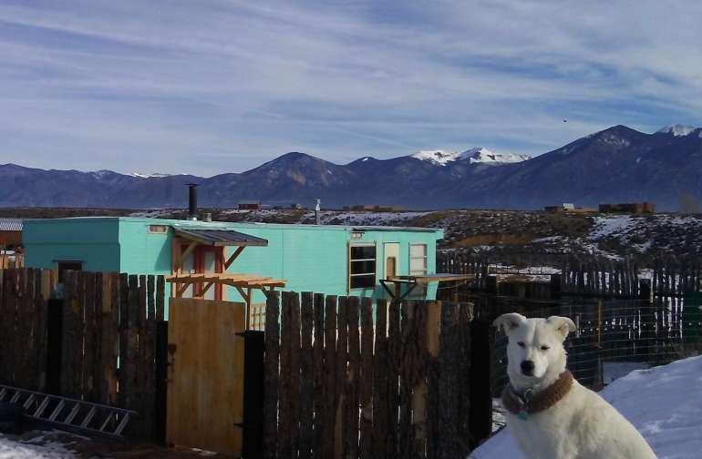 Pancha and the Taos Turquoise Trailer