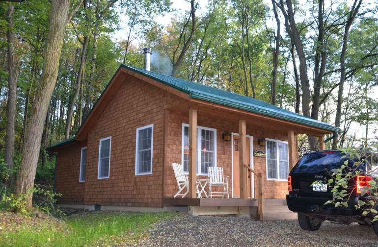Camp George - 525 sq .ft. with porch and back patio