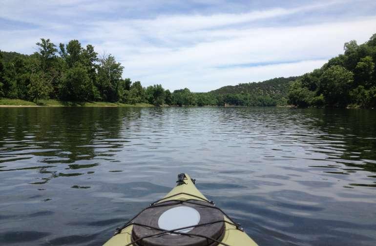 Rivers edge  White River Cabin