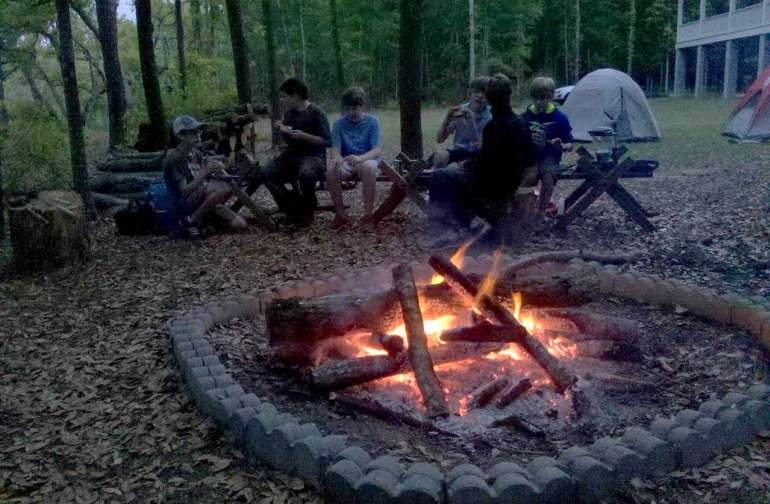 Camp on the Creek