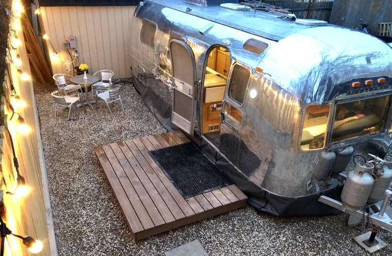 RockNRoadie 1970 Airstream Escape