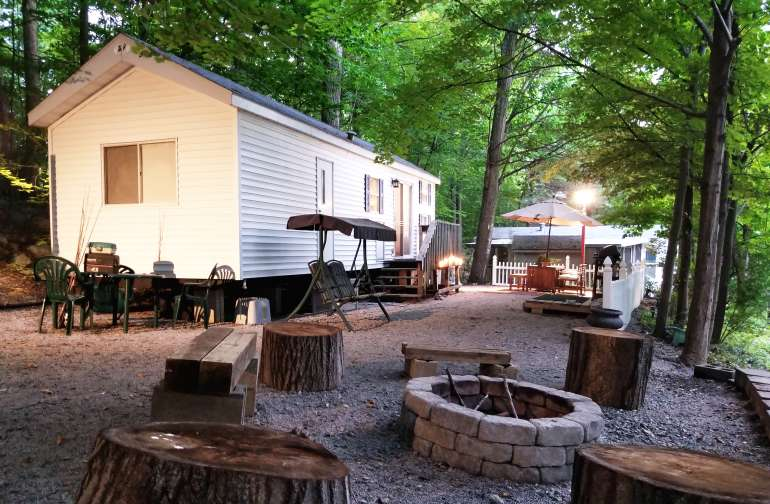 Glamping at a NJ Camping Resort