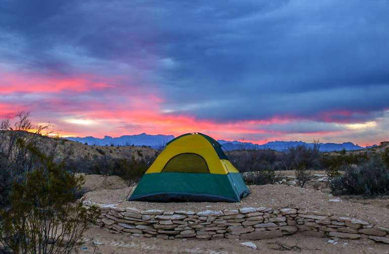 Arroyo Camp @ Basecamp Terlingua
