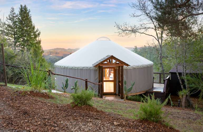 Welcome to The Rising Moon Yurt!