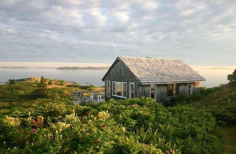 Main Cabin on Oak Island