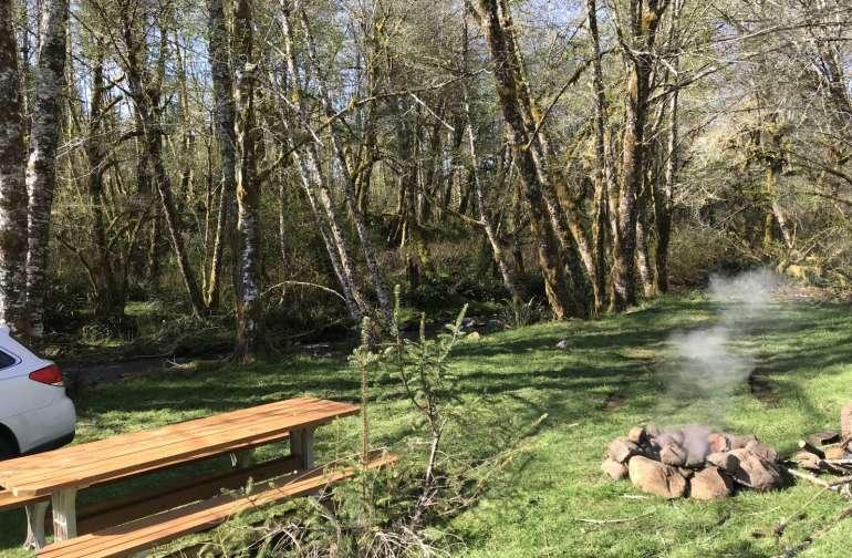 Powder Creek Campsites
