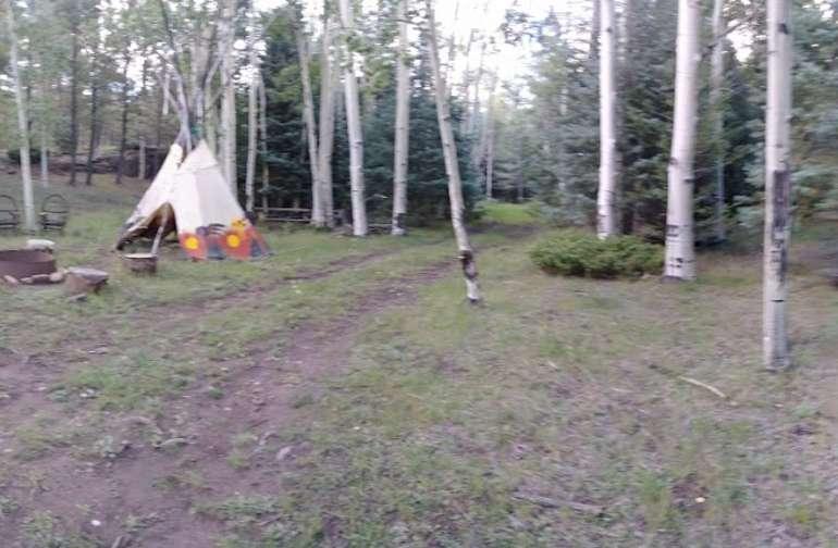 Cliffside Tent spot 1