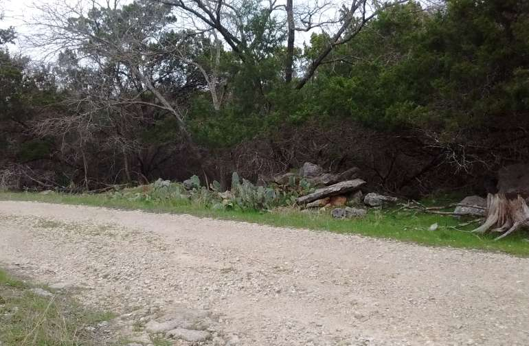 Perfect Paved Road leads to this well maintained gravel road.  This gravel road loops around for easy pulling in and out of this area.  Perfect for parking on the edge of my property bordering this road!