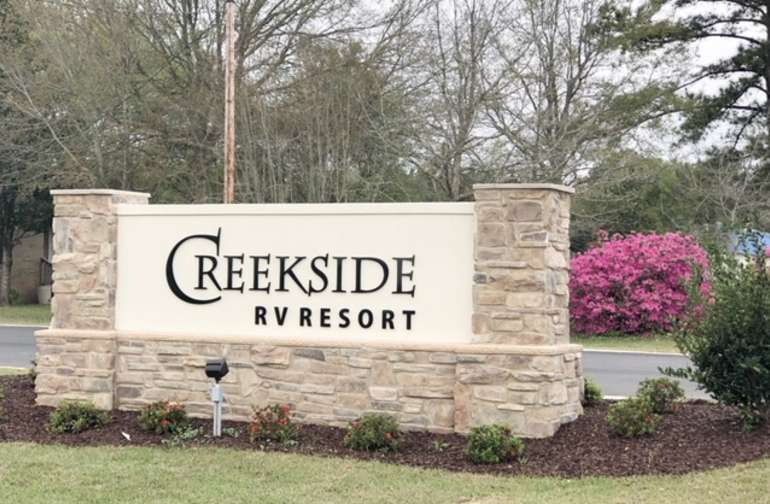 Beautiful Creekside RV Resort
