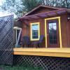 quiet,rustic cabin