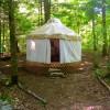 Lakeside Rustic Yurt