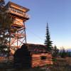 Big Creek Baldy Lookout Cabin